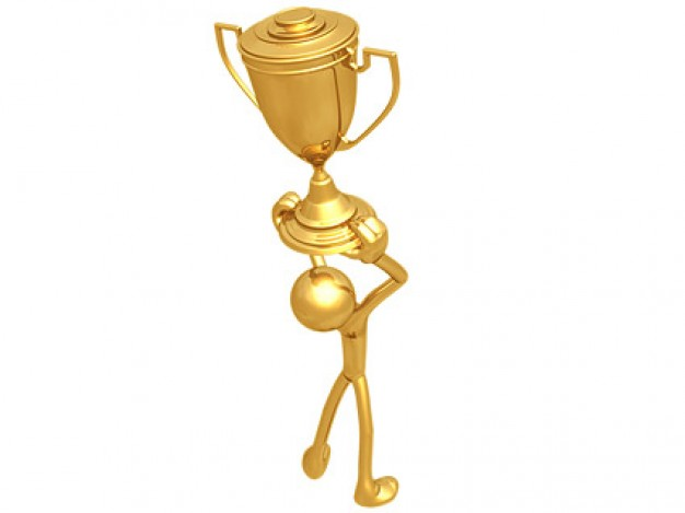 d-sollevo-il-piccolo-trofeo-materiale-fotografico_38-5471